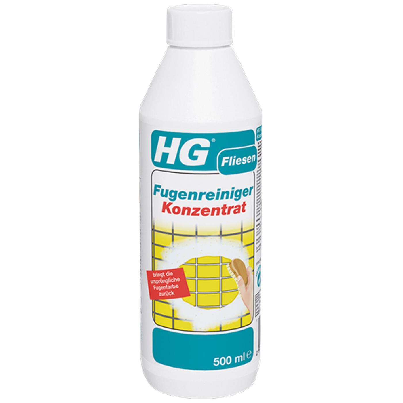 HG Fliesen Fugenreiniger Konzentrat 500 ml