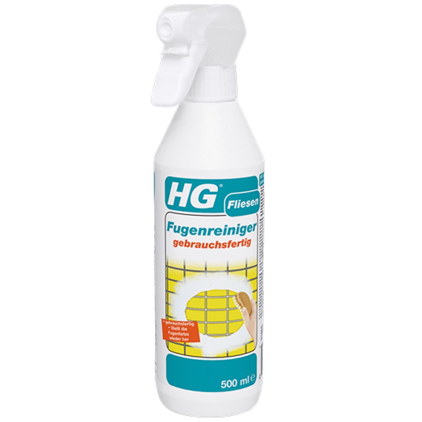 HG Fliesen Fugenreiniger gebrauchsfertig 500 ml